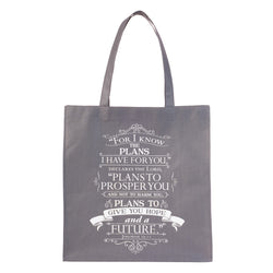 For I Know The Plans - Jeremiah 29:11 Tote Bag