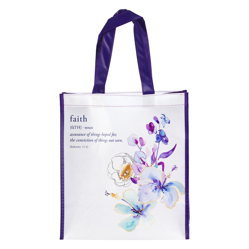 Faith Tote Bag – Hebrews 11:1