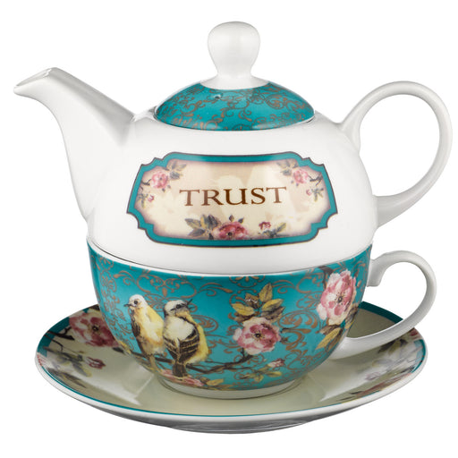Trust in the Lord - Proverbs 3:5 Tea for One Set