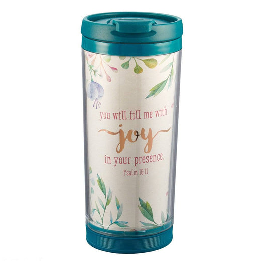 Fill Me with Joy Travel Mug Polymer