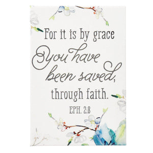For It Is by Grace Eph 2:8 Magnet