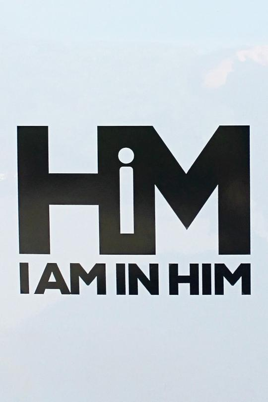 I AM IN HiM Decal