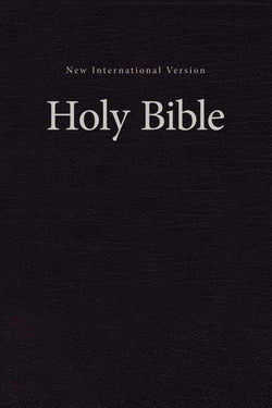 NIV, Value Pew and Worship Bible, Hardcover, Black