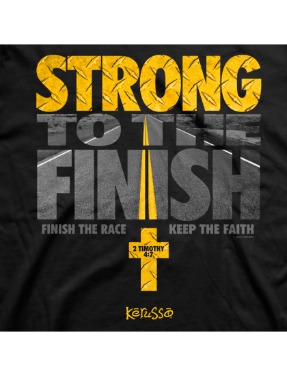 Strong To Finish The Race - Men's Christian T-Shirt