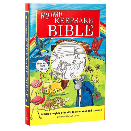 My Own Keepsake Bible: Children's Coloring Bible