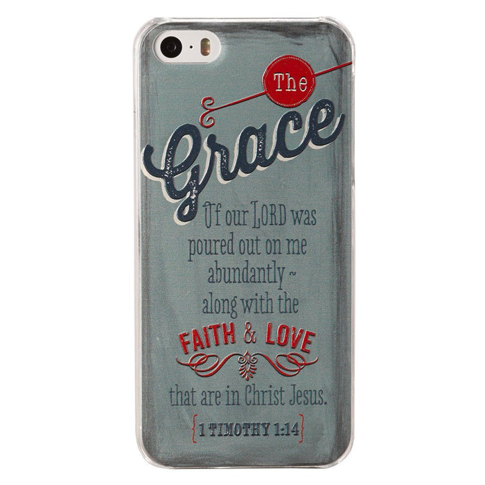 "Retro Blessings ""Grace"" iPhone® 5/5S Smartphone Cover"