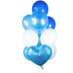 Ocean Blue Balloon Bunch