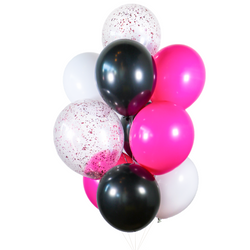 Victoria Hot Pink Balloon Bunch