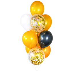 Classic Gold Balloon Bunch