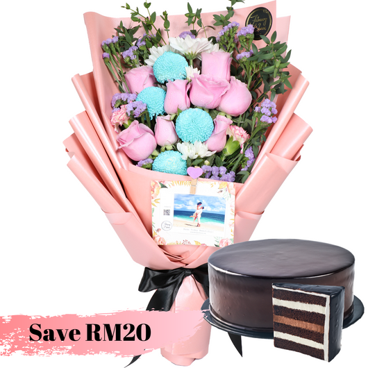 Bella Chocolate indulgence Cake Bundle