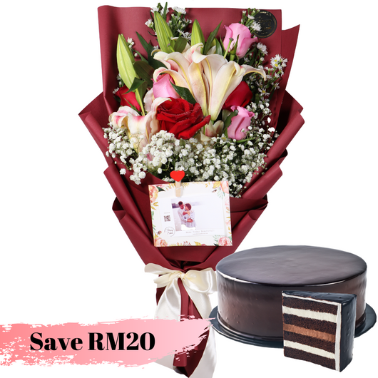 Mulan Chocolate Indulgence Cake Bundle