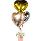 Gold Flakes (Helium Foil Balloon)