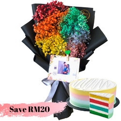 Million Star Rainbow Cake Bundle