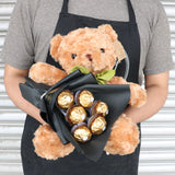 Teddy Bear with Chocolate