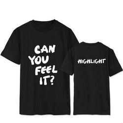 HIGHLIGHT CAN YOU FEEL IT? T-Shirt - Kpop Shop Co.