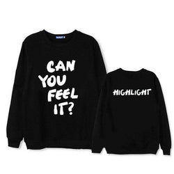 HIGHLIGHT CAN YOU FELL IT?  Sweater - Kpop Shop Co.