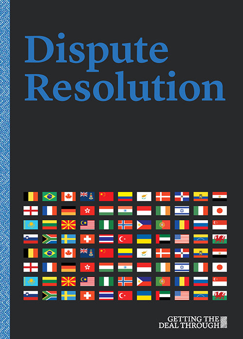 Dispute Resolution 2019