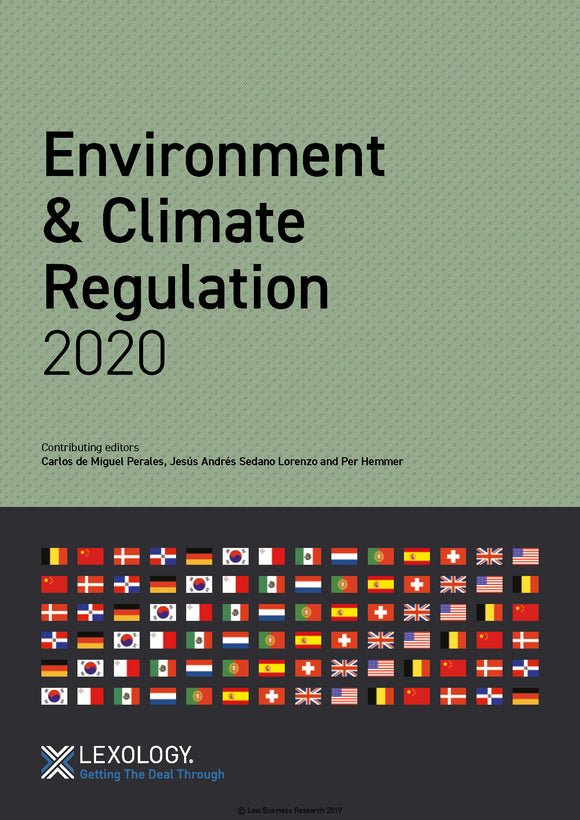 Environment & Climate Regulation 2020