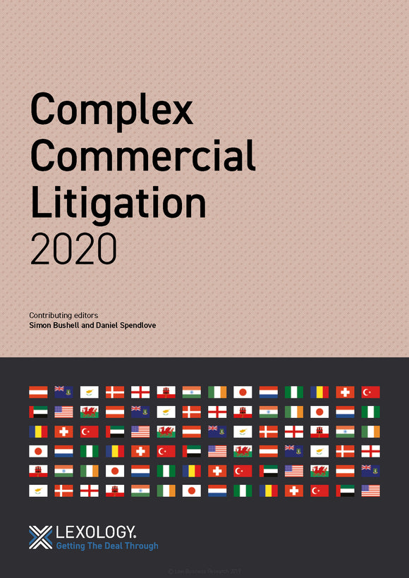 Complex Commercial Litigation 2020