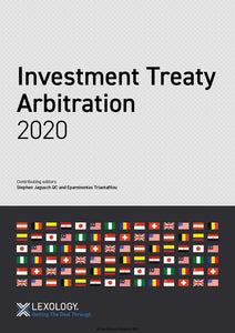 Investment Treaty Arbitration 2020