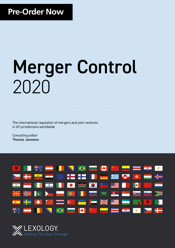 Pre-order now: Merger Control 2020