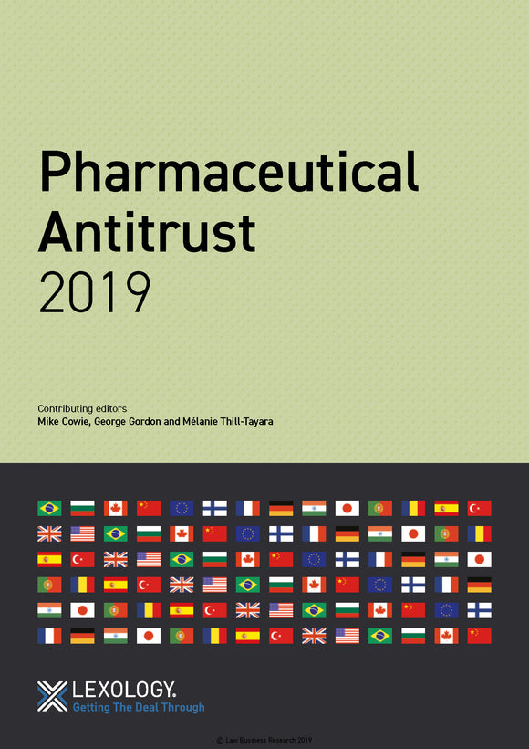 Pharmaceutical Antitrust 2019