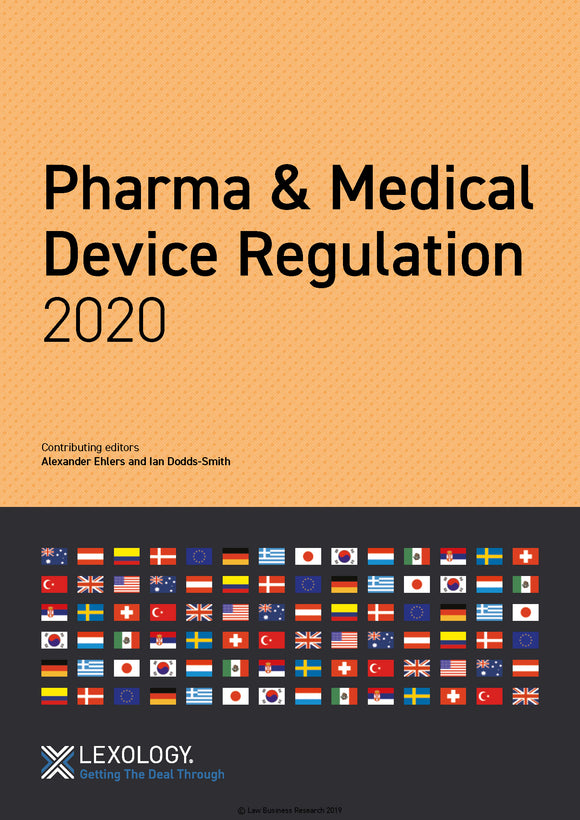 Pharma & Medical Device Regulation 2020