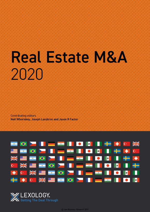 Real Estate M&A 2020