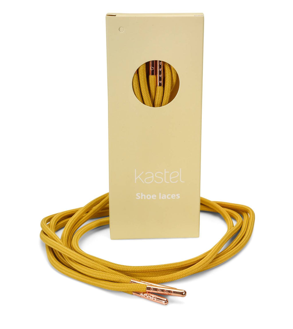 Shoelaces, Amber Yellow