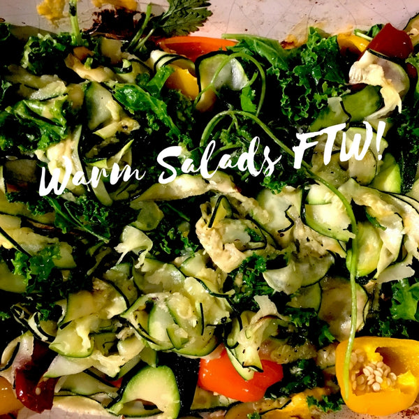 Easy, Hearty Warm Salad Recipe!