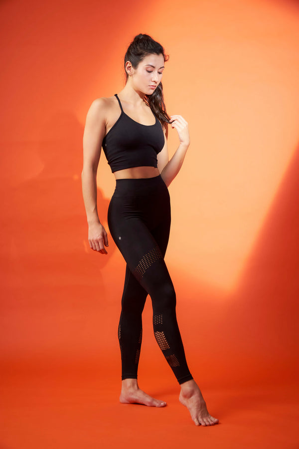 No Scratch! Power Leggings in Black