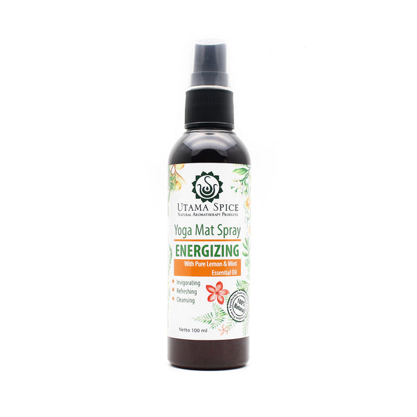 Utama Spice Energizing Yoga Mat Spray - Rangoon Singapore