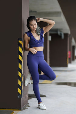 Fluid Legging in Navy - Rangoon Singapore