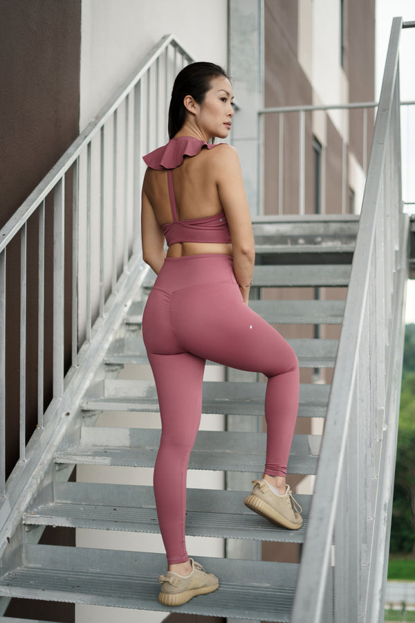 Fluid Legging in Plum - Rangoon Singapore