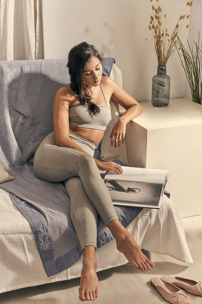 Isabel 7/8 Legging in Slate Grey