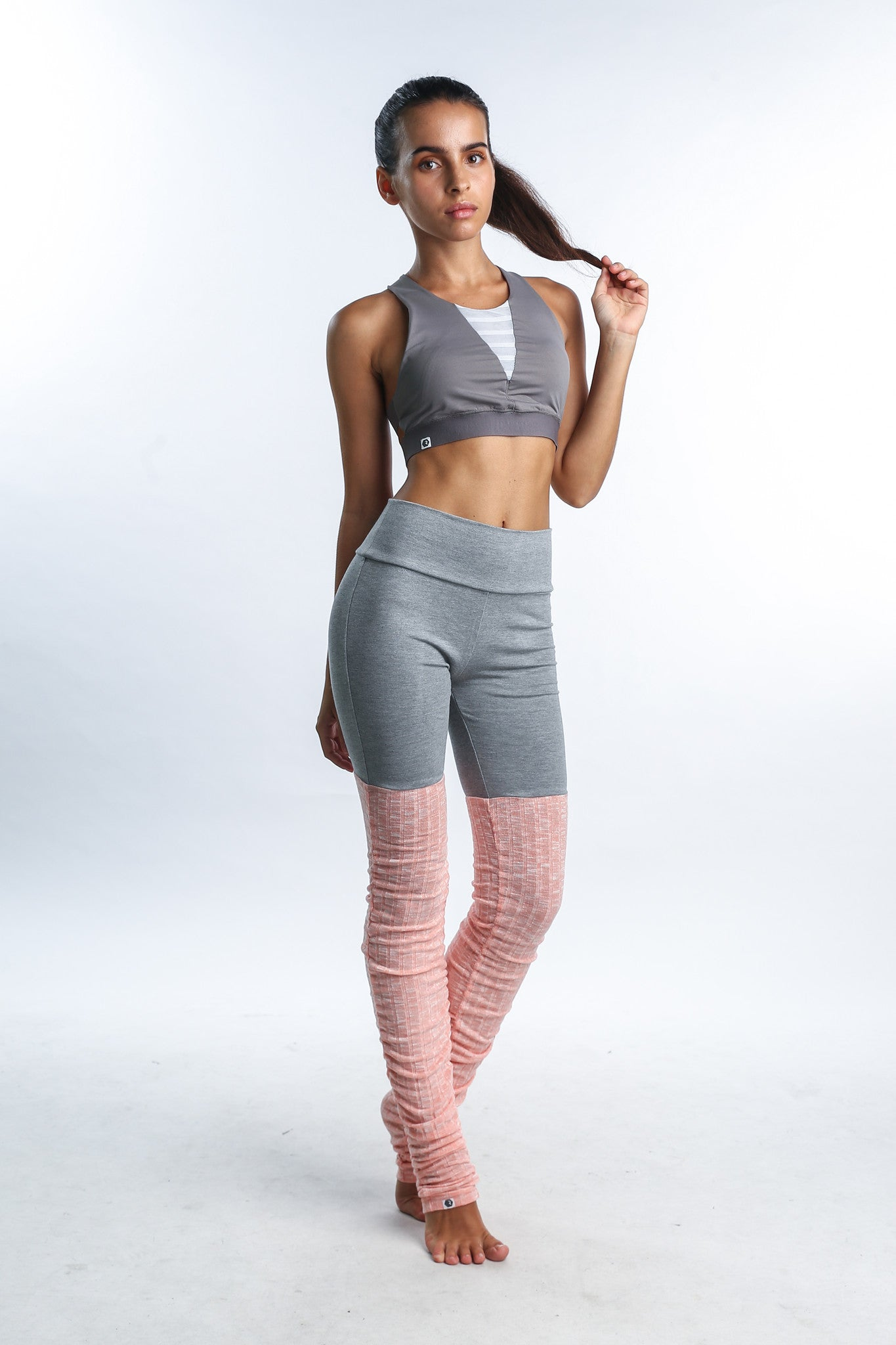 Belle Warmers leggings in Pink