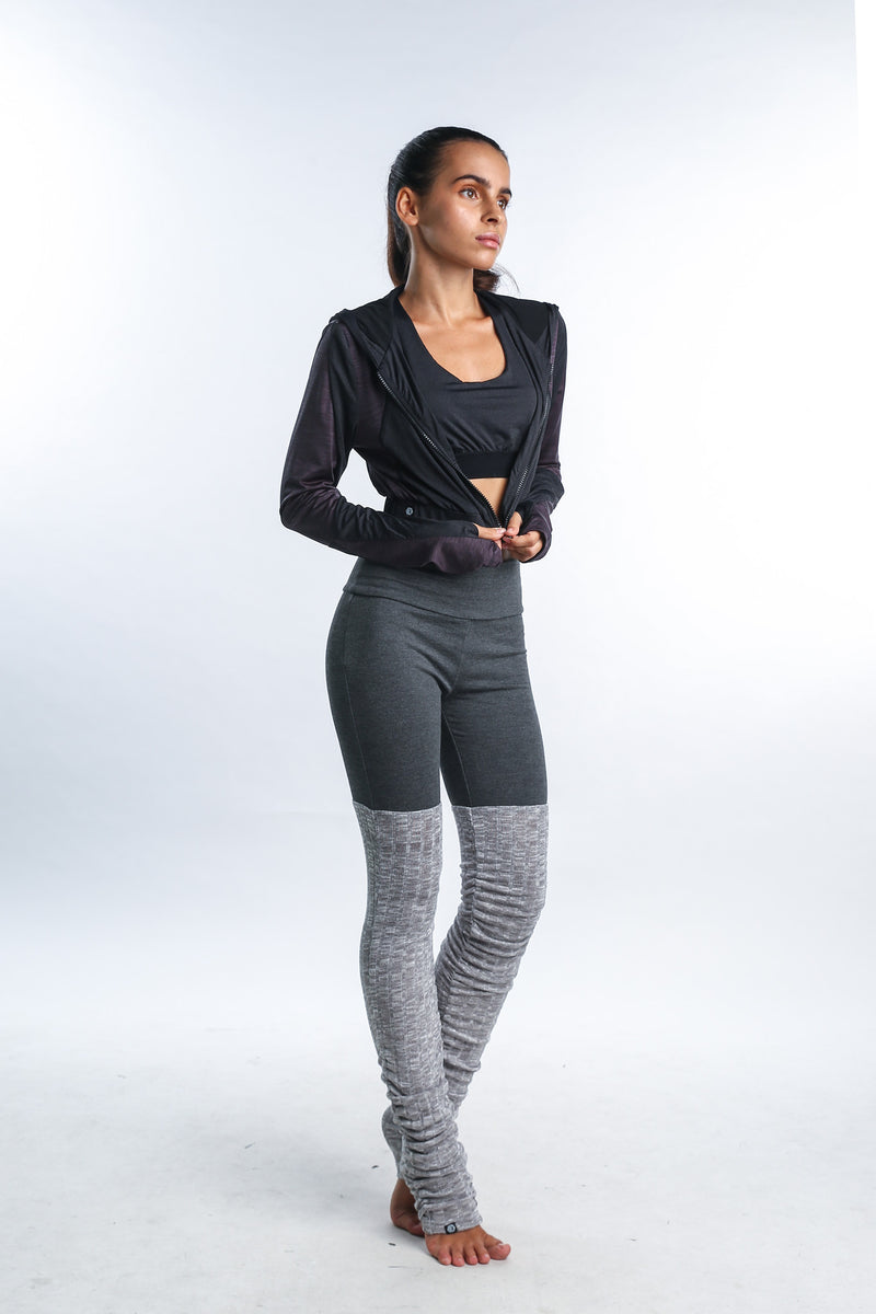 Belle Warmers legging in Grey - Rangoon Singapore