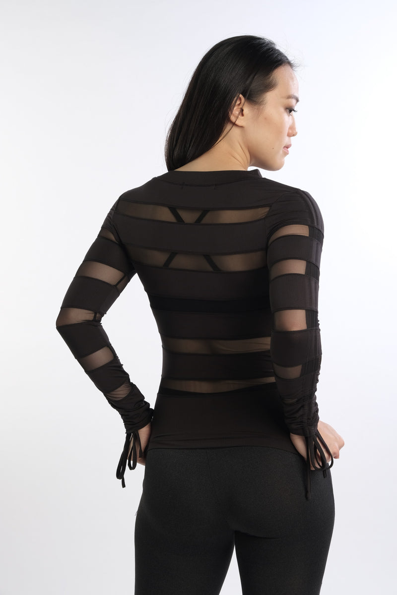 Aon Bodycon in Black - Rangoon Singapore