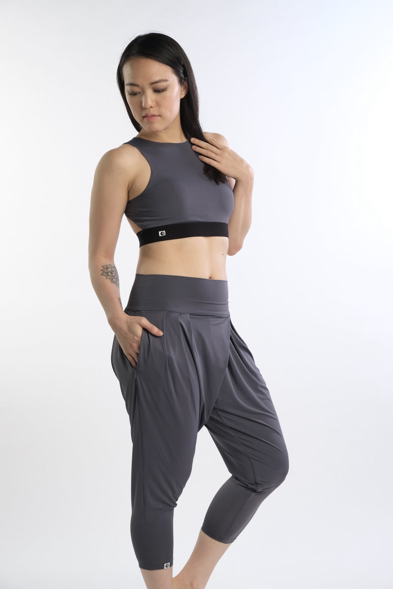 Ella Vibe&Flow Pant in Grey - Rangoon Singapore