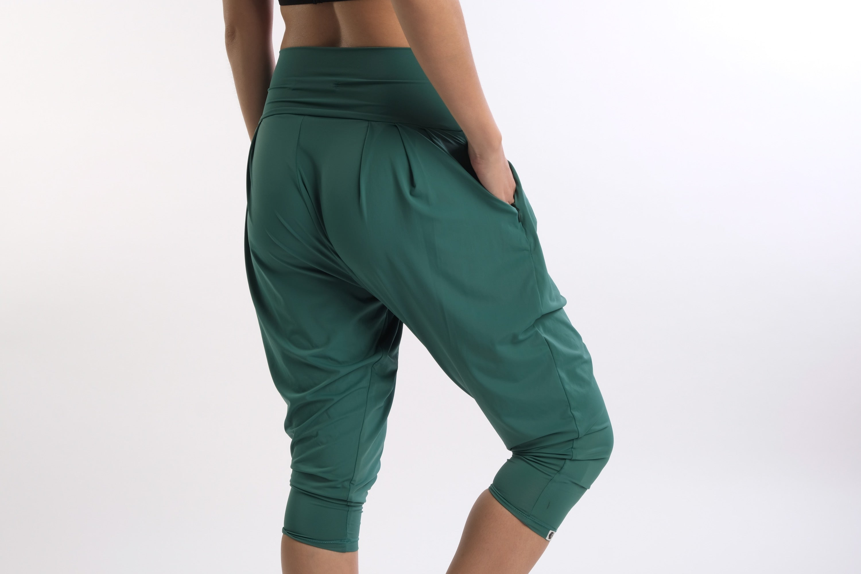 Ella Vibe&Flow Pants in Green