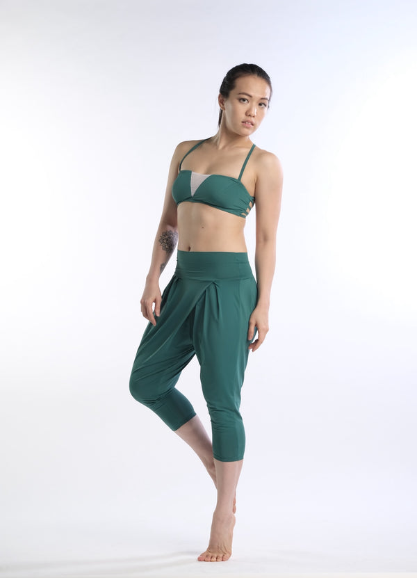 Freida Breathe Bra in Green - Rangoon Singapore