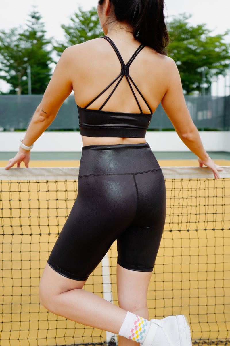 Ninja Biker Short in Black