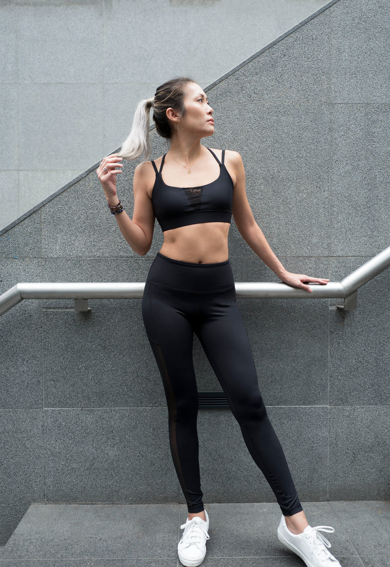 Portia Legging in Dark - Rangoon Singapore