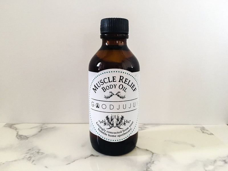 GoodJuJu! Muscle Relief Body Oil - Rangoon Singapore