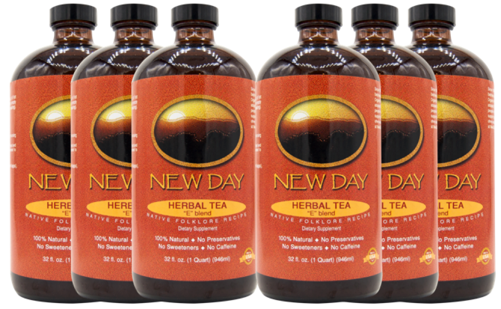 New Day Tea E-Blend 6-Pack