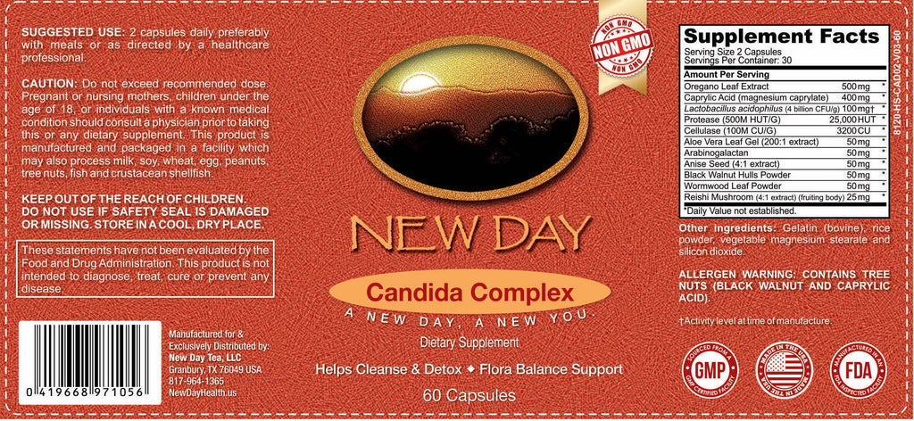 Candida Cleanse Complex | 60 Capsules
