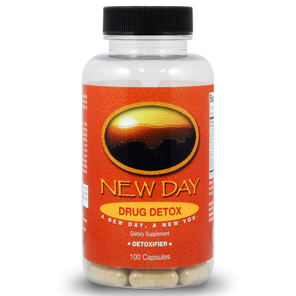 All Natural Drug Detox Cleanse Supplement | 100 Capsules