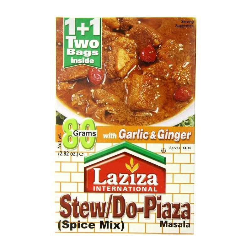 Laziza Stew/do- Piaza 80g-Instant Mixes-Mullaco Online
