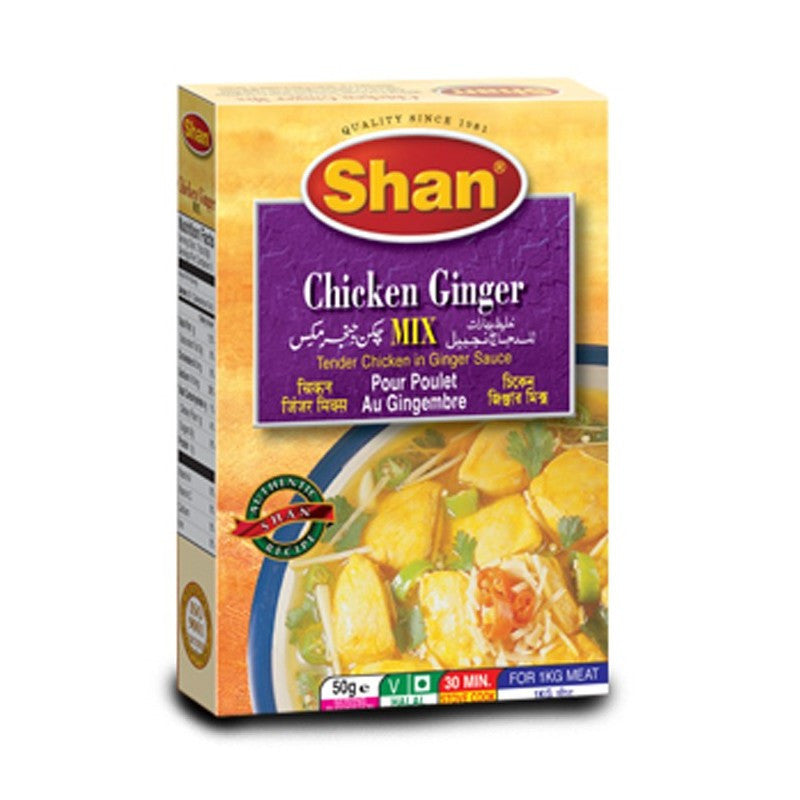 Shan Chicken Ginger-Instant Mixes-Mullaco Online