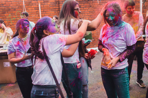 Ministry of Colours - University colour powder party